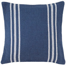 Lexington Navy/White Indoor/Outdoor Pillow